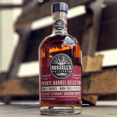 Russells Reserve Private Barrel Selection Single Barrel Bourbon - Ace Spirits Selection
