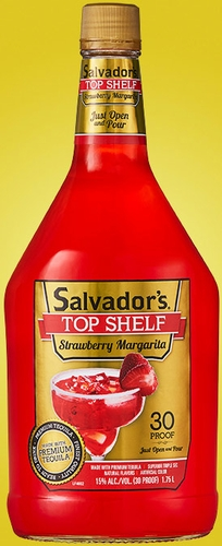 Salvadors Top Shelf Strawberry Margarita 1.75L