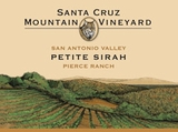 Santa Cruz Mountain Vineyards Petite Sirah 2014