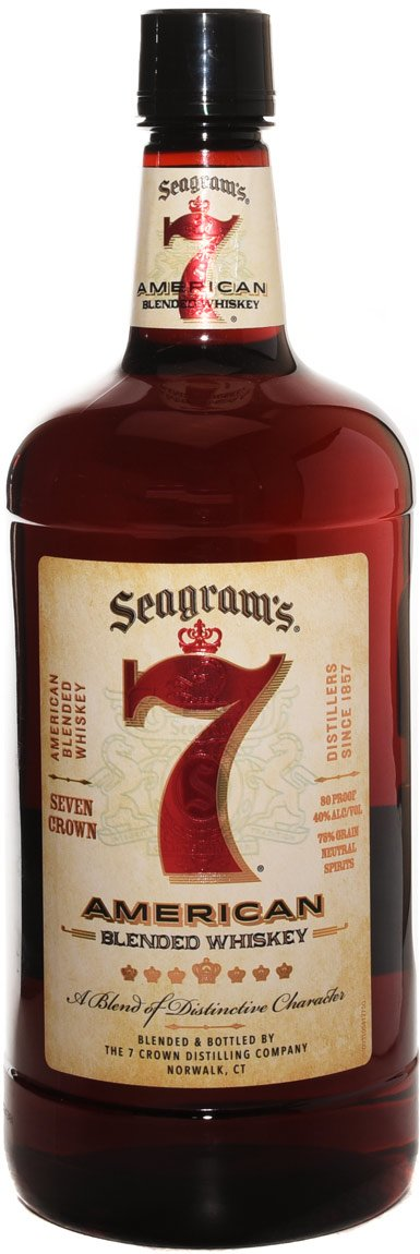 Seagrams 7 American Blended Whisky 1.75L