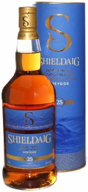Shieldaig Speyside 25 Year Old Single Malt Scotch