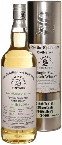 Signatory Mortlach 7 Year Old Single Malt Scotch 2008