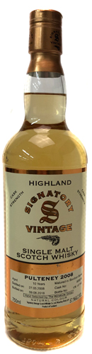 Signatory Old Pulteneny 10 year 750ML