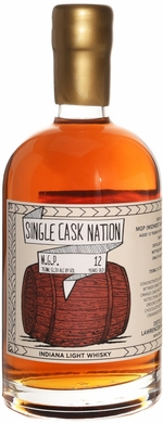 Single Cask Nation MGP 12 Year Old Light Whiskey 750ML