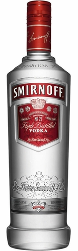 Smirnoff Vodka (80 Proof) 1L