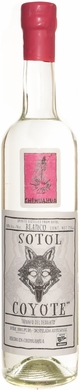 Sotol Coyote Chihuahua Blanco (pink label) 750ML
