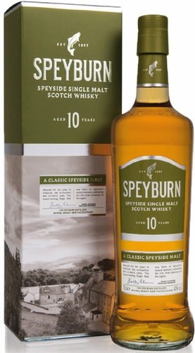 Speyburn 10 Year Old Single Malt Scotch