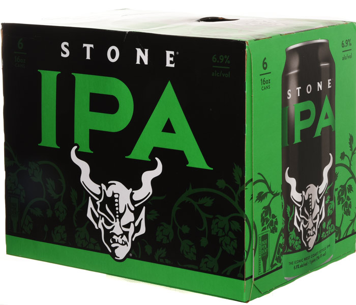 Stone IPA 6 Pack Can