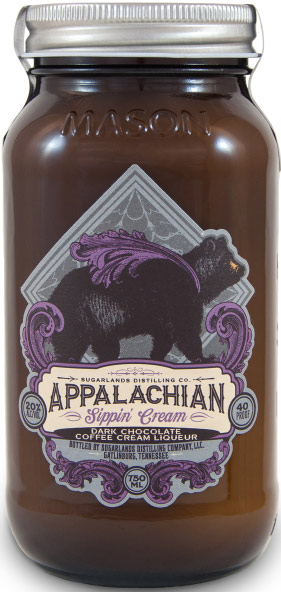 Sugarlands Dark Chocolate Sippin' Cream Liqueur
