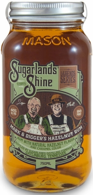Sugarlands Shine Mark & Diggers Hazelnut Rum 750ML