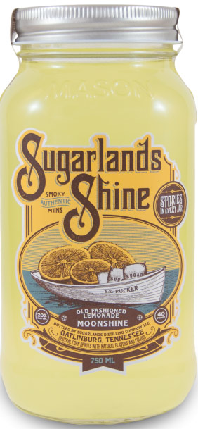 Sugarlands Shine Old Fashioned Lemonade Flavored Moonshine 750ML