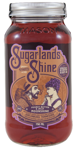 Sugarlands Shine Peanut Butter and Jelly 750ML
