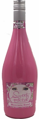 Sweet Bitch Pink Bottle Moscato Rose 750ML