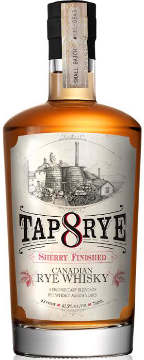 Tap 8 Canadian Rye Sherry Finished Whisky
