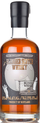 That Boutiquey Whiskey Company 50 Year Old Blended Scotch 375ml