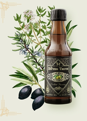 The Bitter Truth Olive Bitters  CASE OF (12) 200ML