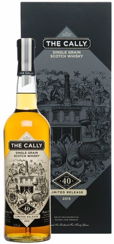 The Cally 40 Year Old Single Grain Scotch