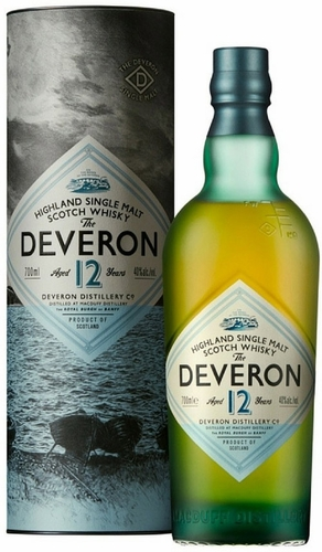 The Deveron 12 Year Old Single Malt Scotch 750ML