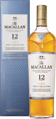 The Macallan 12 Year Old Triple Cask Matured Single Malt Scotch