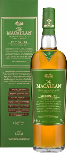 The Macallan Edition No.4 Single Malt Scotch 750ML