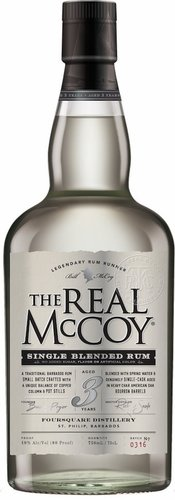 The Real Mccoy 3 Year Old Single Blended Rum 750ML