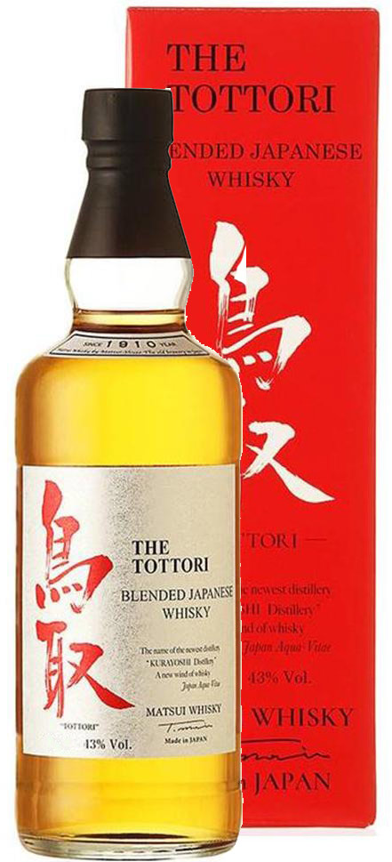 The Tottori Blended Japanese Whisky