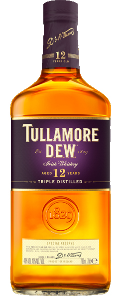 Tullamore DEW 12 Year Irish Whiskey 750ML