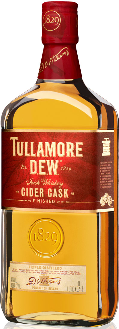 Tullamore Dew Cider Cask Finished Limited Edition Irish Whiskey 750ML