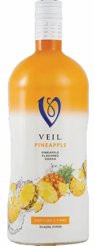 Veil Pineapple Vodka 1.75L (case of 6)