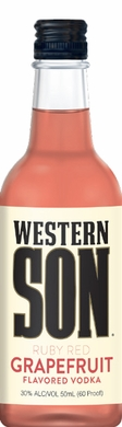 Western Son Grapefruit Vodka 50ML