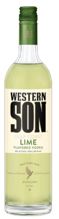Western Son Lime Vodka 1L