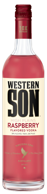 Western Son Raspberry Vodka 1L