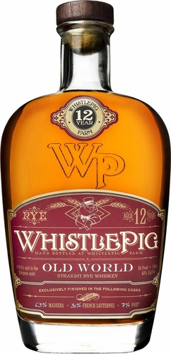 Whistle Pig 12 Year Old World Cask Rye Whiskey 750ML