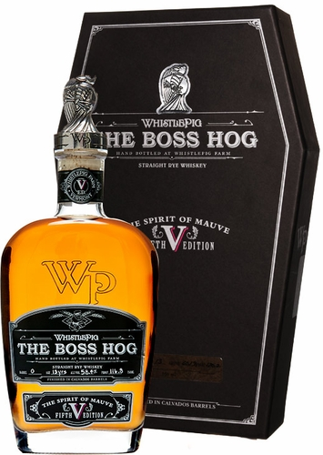 Whistle Pig the Boss Hog V: The Spirit of Mauve Rye Whiskey