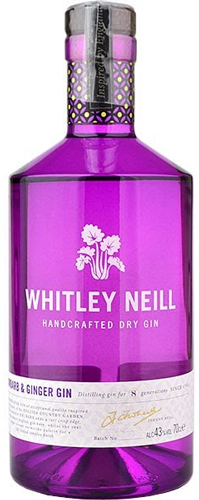 Whitley Neil Rhubarb and Ginger Gin 750ML