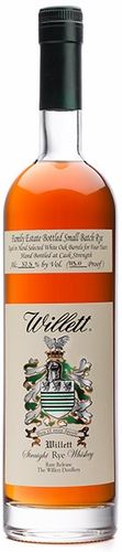 Willett Family Estate 4 Year Old Rye Whiskey  (LIMIT 1)