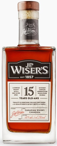 Wiser's 15 Year Old Canadian Whisky