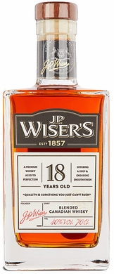 Wisers 18 Year Old Canadian Whisky 750ML