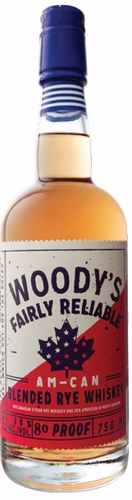 Woodys Am-Can Blended Rye 750ML