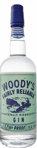 Woodys Totally Mixable Gin 750ML