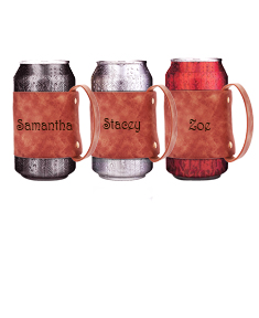 3 Personalized Can Holders