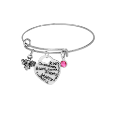 """Be"" Adjustable Bangle"