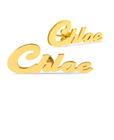 'Chloe' Stud Name Earrings