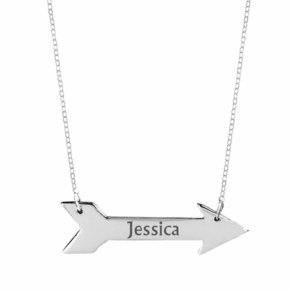 Cupids Horizontal Arrow Necklace