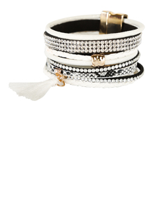 Black & White Designer Inspired Bracelet