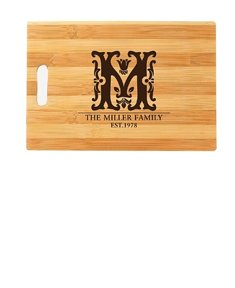 Floral Family Cutting Board