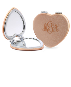 Heart Shaped Personalized Mirror