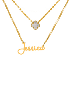 """Jessica"" Necklace with Motif"