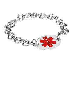 Medical & Contact Bracelet for Her