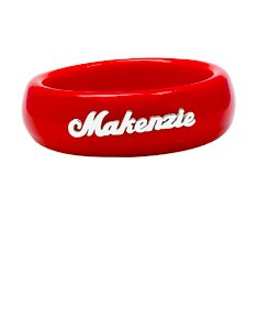 Personalized Acrylic Bangle